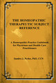 The Homeopathic Therapeutic Subject Reference/Sandra Perko