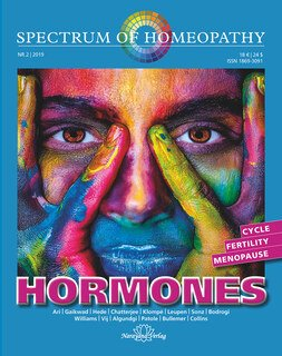 Spectrum of Homeopathy 2019-2, HORMONES, Narayana Verlag